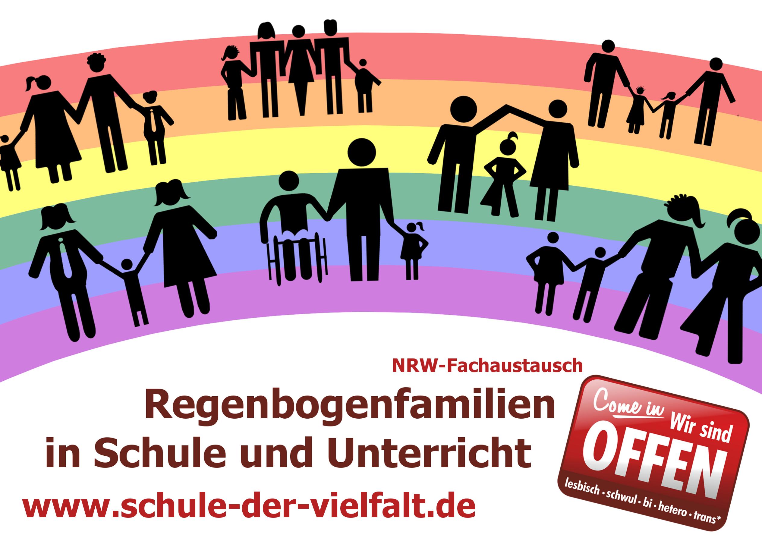 Fachaustausch-Regenbogenfamilien
