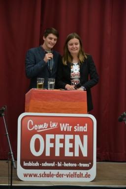 Projektauftakt Gesamtschule Essen Borbeck