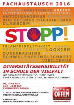 Plakat Schule der Vielfalt