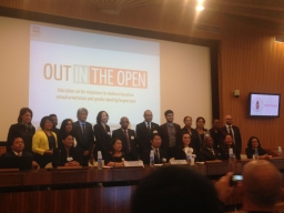 UNESCO conference Out in the open, Paris 2016