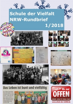 Collage: Rundbrief Winter 2018