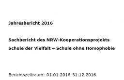 Projektbericht der Landeskoordination