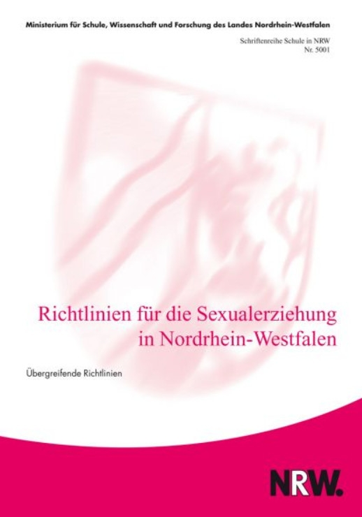 Sexualerziehung nrw grundschule